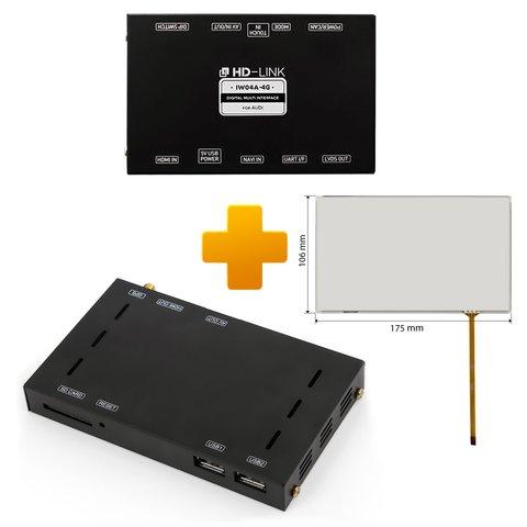 Навигационно мультимедийный комплект для Audi MMI Touch на базе CS9500H