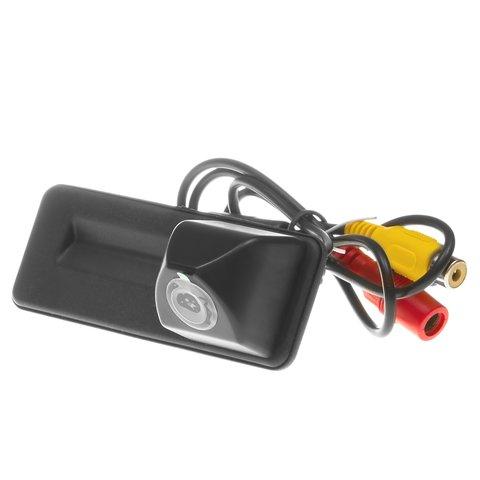 Камера заднего вида в ручку багажника для Skoda Octavia 2010 2013 г.в.