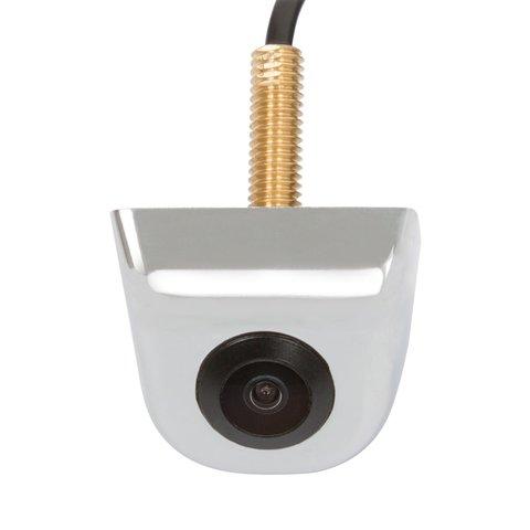 Универсальная автомобильная камера T609A хром