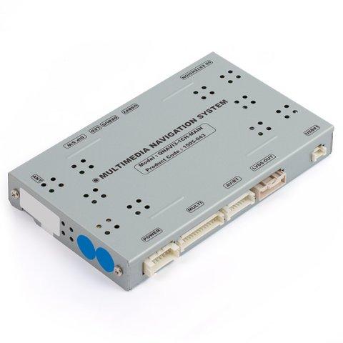 Sistema de navegación para Porsche con sistema CDR+ PCM3.1