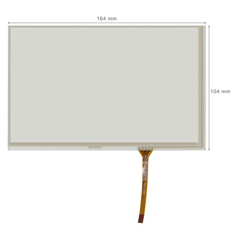 "7.2""  Touch Screen Panel"