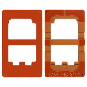 LCD Module Mould for Samsung I8190 Galaxy S3 mini Cell Phone, (for glass gluing )