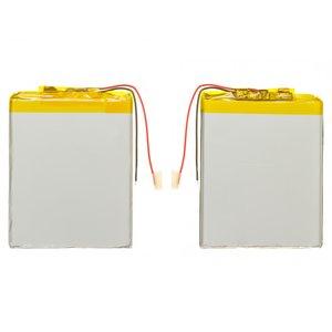 Battery, (75 mm, 58 mm, 3.7 mm, Li-ion, 3.7 V, 1700 mAh)