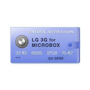 Micro-Box - Activación para LG 3G