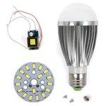 Juego de piezas para armar lámpara LED regulable SQ-Q03 5730 9 W (luz blanca fría, E27)
