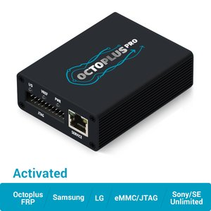 Octoplus Pro Box с набором кабелей/адаптеров (с активацией Samsung + LG + eMMC/JTAG + Unlimited Sony Ericsson + Sony + Octoplus FRP Tool)