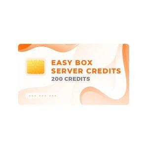 Серверні кредити Easy-Box (пак на 200 кредитів)