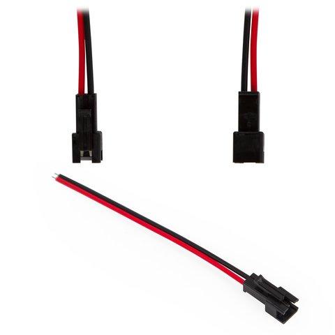 """З'єднувальний кабель 2 контактний JST для світлодіодних стрічок SMD3528 2835, female роз'єм """"мама"""""""