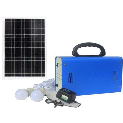 Портативна сонячна електростанція DC 20 Вт, 12 В 12 Аг, Poly 18 В 20 Вт