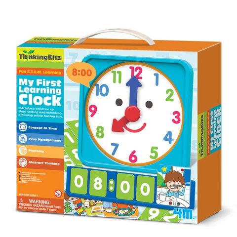 STEAM-набір 4М Мій перший годинник 00-04689