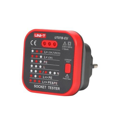 Socket Tester UNI T UT07B EU